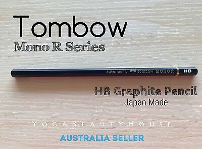 Tombow Mono R Series 1pc Graphite Pencil HB Medium lead calligraphy draw pen art