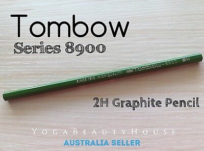 Tombow 8900 1pc Graphite Pencil 2H Firm/Hard (lead calligraphy draw pen art)