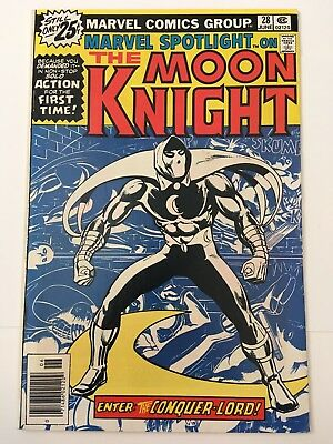 Marvel Spotlight 28 NM 9.4 *1 Book* Marvel! 1st Solo Moon Knight Series!