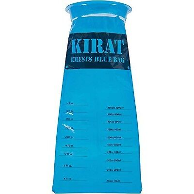 Vomit Bags Barf Bags Vomit Bags for CAR by KIRAT Emesis Bags Disposable Vomit