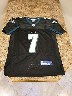 c067a424a69 NFL Reebok Philadelphia Eagles #7 Michael Vick Black Jersey SIze:Medium