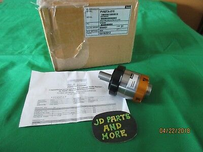 New Parker Stainless Steel Housing Plantary Gearhead Pv60Ta-010  10:1 Ratio Usa