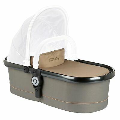 iCandy Peach Main Carrycot in Olive, Suitable from Birth