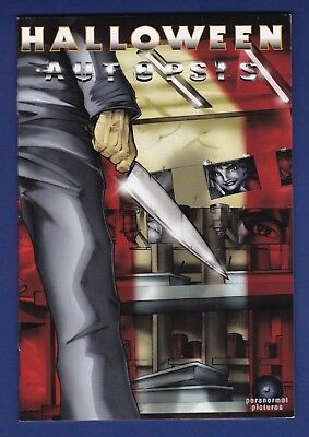 Halloween : Autopsis 2006 Promotional Comic Paranormal Pictures H2