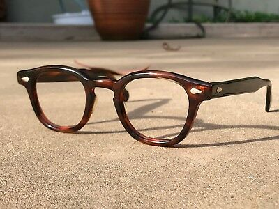 Vintage 50's Tart Optical Arnel Amber 44.24 frames eyeglasses Johnny Depp