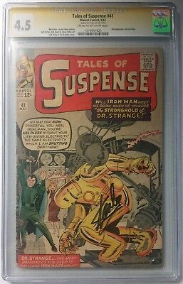 Tales Of Suspense 41 Cgc Ss Signed By Stan Lee