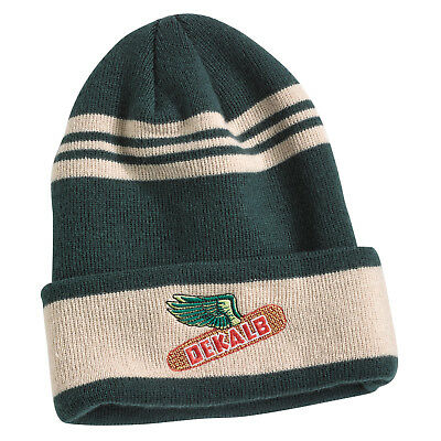 3c7a1954113 DEKALB SEED Green Vintage Beanie Trademark Logo Cap New Corn Hat Cap Winter