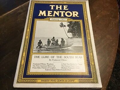 THE MENTOR February 1922 - The Lure Of The South Seas