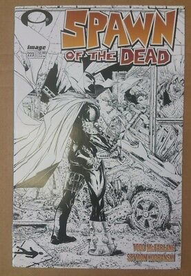 Spawn 223 2012 B&W Variant Image Comic Black and White Sketch