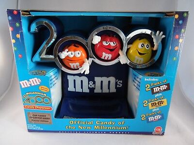 M&M's Millennium 2000 Candy Dispenser Cap Candy Collector's Series Special Ed