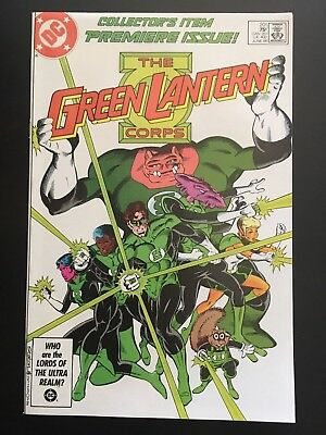 GREEN LANTERN CORPS #201 (June 1986 DC) KEY 1st KILOWOG 1st GL Corps Issue, VFNM