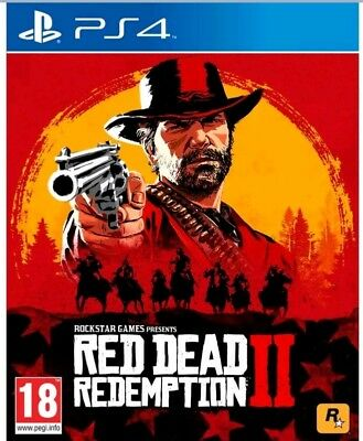 PS4 Playstation 4 Red Dead Redemption 2 *NEW* UNSEALED