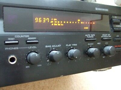 Yamaha KX-393 Natural Sound audio cassette / tape deck working order