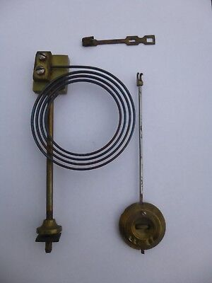 A Mantel Clock Gong And Small Pendulum Spare Or Repair