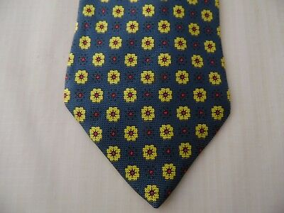 Hommes: accessoires HENRY COTTON'S 100% SILK TIE CRAVATTA MADE IN ITALY I349