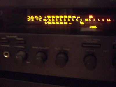 Yamaha KX-393 Natural Sound audio cassette / tape deck that works!
