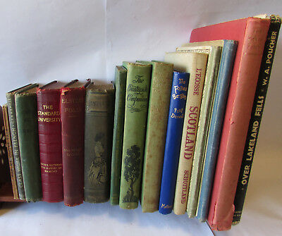 Book Collection 4. Old / Vintage / Antique Books. Hardback, Fiction, Non-Fiction
