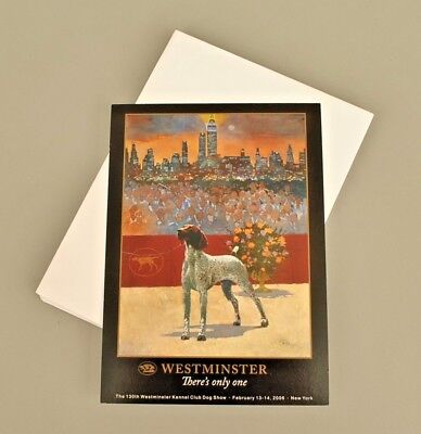 2005 AKC Westminster Best in Show Cards - German Shorthair Pointer