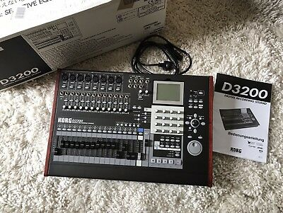 Korg D-3200 Digital Recording Studio