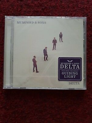 Brand new, never been opened Mumford & Sons - Delta (CD)