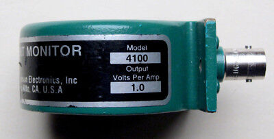 Pearson 4100 Current Monitor (Transformer), 35MHz, 1V/A, Tested 100% functional
