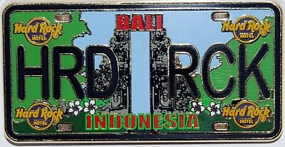 Hard Rock Hotel BALI 2018 Core License Plate Series Pin