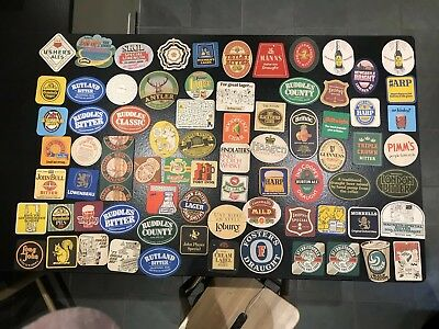 Large Collection Vintage Retro Beer Mats Drinks Coasters-Job Lot (#3 of 5 lots)