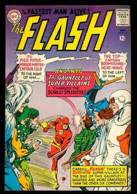 The Flash #155  Fn/vf (Looks Nicer, Tanning, Thin Water Line Top Edge)