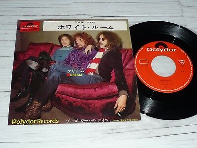 "7"" Cream    White Room     (Japan / Polydor)"