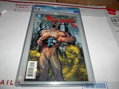 Swamp Thing #23.1 Cgc 9.8 (Lenticular Cover) (1St Print) (Combined Shipping Ok)