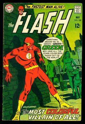 The Flash #188 Vg/vg+ (Chips Back Cover)