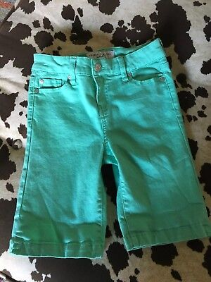 Girls Celebrity Pink Green Shorts Size 12