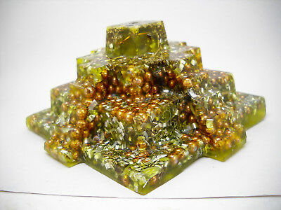 Authentic Positive Orgone Energy Generator Mayan Pyramid Made To Order