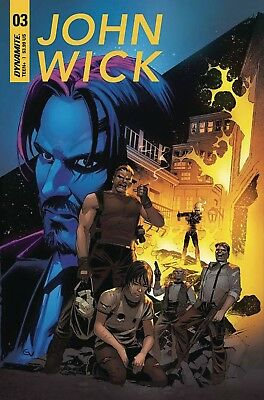 All 3 Covers John Wick #3 Covers A, B, C   After A Whole Year!!