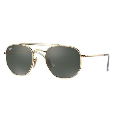 ce5939df1cf7f RAY-BAN LUNETTES DE soleil Marshal Or Vert G-15 RB3648 001 54-21 ...