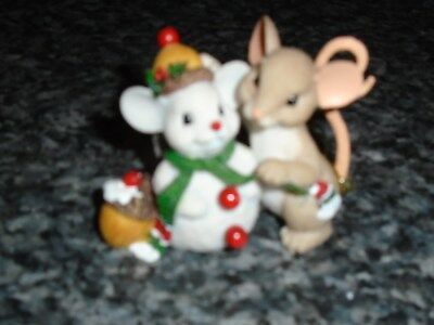 Charming Tails-It's the Perfect Time of Year to Make Friends-New in Box