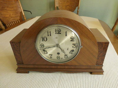 German Haller 14cm Whittington & Westminster Mantle Working Clock Key Present