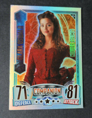 Topps Dr Who Alien Attax  Limited Edition Le1 Clara Oswald