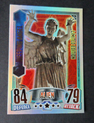 Topps Dr Who Alien Attax  Limited Edition Le2 Weeping Angel