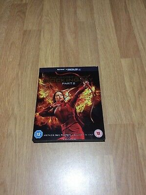 The Hunger Games Mockingjay Part 2 Blu-ray Like New