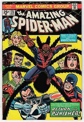 Amazing Spider-Man #135 (1974) Second Appearance Of Punisher Vg