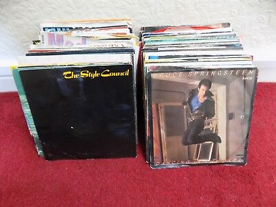 Collection of 80's 7 inch vinyl records