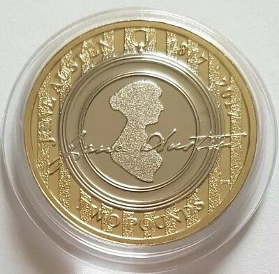 2017 The Royal mint Jane Austen Two pounds £2 coin Brilliant Uncirculated BU UK