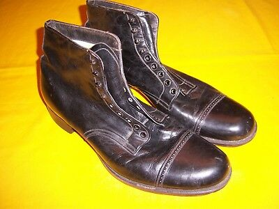 RARE 1902-1910 USMC DRESS SHOES The Racine Shoe EXC-NMINT, Sz 11 - 11 1/2 ?