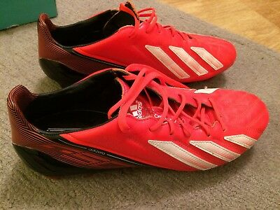 newest e5129 a09d4 Adidas adizero f50 football boots - leather size 8 lightly used