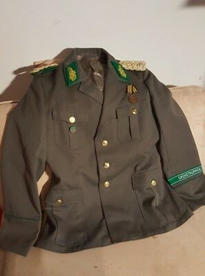 GENERAL DDR NVA Uniform, Jacke Grenztruppen