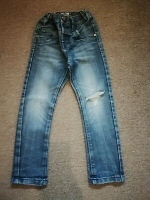 Boys Next skinny Distressed Jeans 4 Years