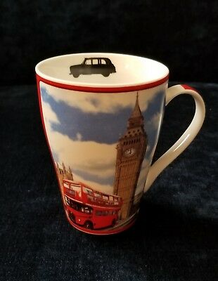 London Theme Coffee Mug Designed by Paul Cardew
