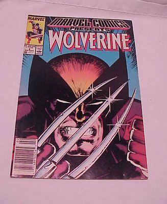 Vol.1, #2 Marvel Comics Presents WOLVERINE 1988