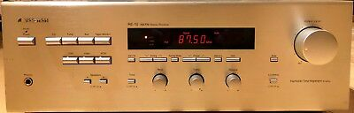 Nakamichi RE-10 AM/FM Stereo receiver, gold colour, fully working, no remote